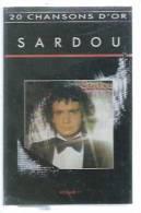"""K7 Audio - MICHEL SARDOU """" 20 CHANSONS D'OR Vol.1 """"  20  TITRES - Cassettes Audio"""