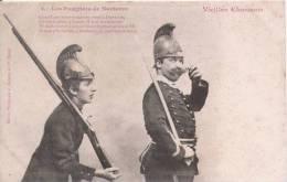 LES POMPIERS DE NANTERRE 1 VIEILLES CHANSONS (BERGERET  NANCY) - Sapeurs-Pompiers