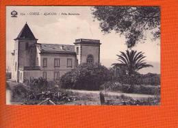 1 Cpa Ajaccio Villa Balestrino - Ajaccio