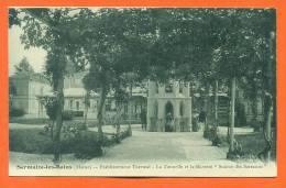 """Dpt  51  Sermaize Les Bains  """"  Etablissement Thermal - La Tonnelle Et La Buvette  """" - Sermaize-les-Bains"""