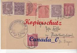 B  6  --  Dienst-Postkte Elserfeld (Superintendentur Siegen N. Niederdrasseldorf  3.11.1923  TEX T !! - Alemania