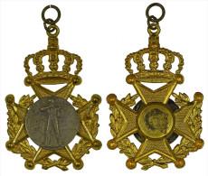 M01330 1927 EEre De Alp, Crossbow Arbalète Armburst Couronne Croix (8 G.) - Jetons & Médailles