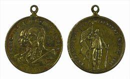 M01335 Autriche Österreich Schutzenfest Tir Schot Schuss 1893 François Joseph Sissi Un Tireur (8 G.) - Jetons & Médailles