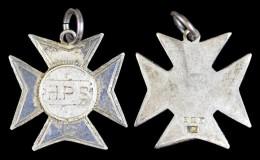 AG00106  H.P.S. Croix En Argent Allemagne Deutschland (?) Tir Schuss Schot (8 G.) - Jetons & Médailles
