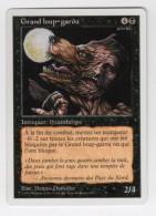 CARTE MAGIC THE GATHERING - 5ème EDITION - NOIR - Grand Loup-garou - UNCOMMON - MINT - Cartes Noires