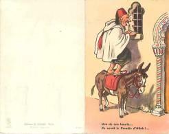 Themes Div-ref E522- Illustrateur Chaperon Jean -carte Systeme  - Carte Humoristique -humour - -carte Bon Etat  - - Humour