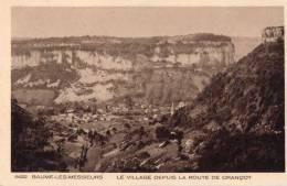 Cpa BAUME LES MESSIEURS, Le Village Depuis La Route De Grançot  (15.10) - France
