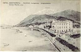 NOVARA - BAVENO - HOTEL CONTINENTAL - Novara
