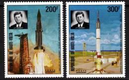 Haute Volta P.A. N° 160 / 61 XX Fusée Et Kennedy Sujets Divers , Les 2 Valeurs  Sans Charnière TB - Upper Volta (1958-1984)