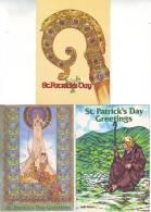 3 Pieces St. Parick's Day Greetings 1985 Beannachtai Na Féile Pádraig - Saint-Patrick's Day
