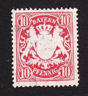 Bavaria, Scott #63, Used, Coat Of Arms, Issued 1900 - Bavaria