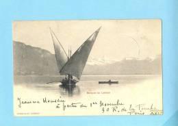 GENEVE SUISSE Schweiz Svizzera -  Barque Du Léman - GE Ginevra