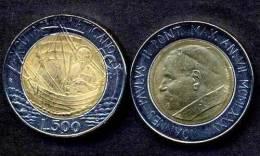VATICANO  VATICAN - 500  Lire 1985 - IOANNES PAULUS II - Y 190 - UNC - Vatican