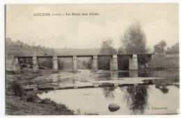 EGUZON. -  Le Pont Des Piles - France