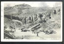 THEBES( Egitto )  Cartolina Viaggiata 1962 - Cairo