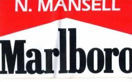 Adesivo Stiker Etiqueta MANSELL MARLBORO F1 - Non Classificati