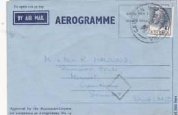 Australia   1959  Used Aerogramme - Aerogrammes