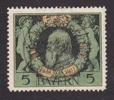 Bavaria, Scott #92, Used, Prince Regent Luitpold, Issued 1911 - Bavaria