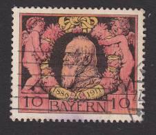 Bavaria, Scott #93, Used, Prince Regent Luitpold, Issued 1911 - Bavaria