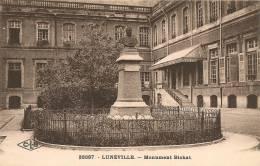 Cpa54 Lunéville Monument Bichat - Luneville