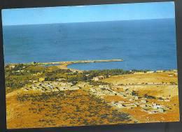 LIBIA -DERNA General View Panorama Cartolina   Viaggiata 1968 - Libia