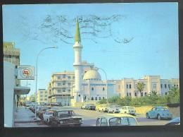LIBIA Tripoli Moschea Sidi Biliman Cartolina   Viaggiata 1972 - Libia