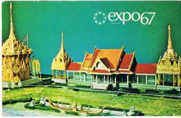 Expo 67 De  Montreal  Pavilion Thailand - Montreal