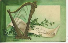 ST PATRICK´S DAY - LET ERIN REMEMBER - ELLEN CLAPSADDLE - TUCK SERIES 1038 - Saint-Patrick's Day