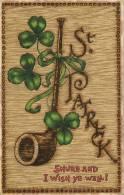 ST PATRICK'S DAY - SHAMROCK AND PIPE - TUCKS 1020 - Saint-Patrick's Day