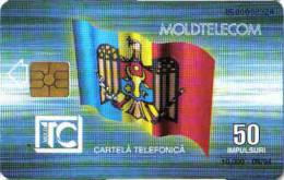 MOLDOVA / MOL 01 - 09. 94 FIRST ISSUE, MINT - Moldavie
