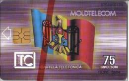 MOLDOVA / MOL 02 - 09. 94 FIRST ISSUE, MINT - Moldavie