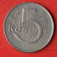 CZECHOSLOVAKIA  5  KORUM  1979   KM# 60  -    (Nº01652) - Tschechoslowakei