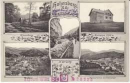 Hohenberg Austria, Multi-view Town Views, Reisalpe, Hinterburg, C1910s Vintage Postcard - Oostenrijk