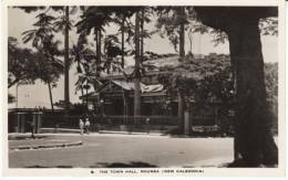 Noumea New Caledonia, Town Hall Building Architecture, C1940s/50s(?) Vintage Real Photo Postcard - New Caledonia