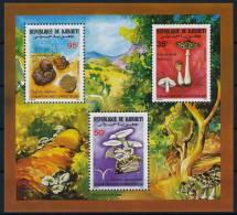 Djibouti Mushrooms S/S Pilze Block °BM0277 MNH - Pilze