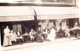CAFE - RESTAURANT CARTE TRES ANIMEE MAIS OU? - Restaurants
