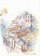 FRANCE : 66 : ## St. MARTIN De CANIGOU. ## : Aquarelle De Robert Lépine. - Other Municipalities