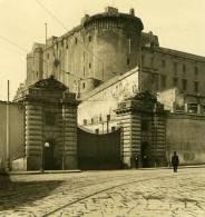 Italie Napoli Naples Arsenal Ancienne Stereo Photo Stereoscope NPG Ca 1900 - Stereoscopio