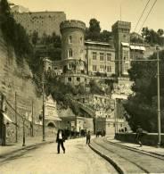 Italie Napoli Naples Cours Victor Emmanuelle Ancienne Stereo Photo Stereoscope NPG Ca 1900 - Stereoscopio