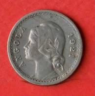 ANGOLA  20  CENTAVOS  1921   KM# 64  -    (Nº01719) - Angola
