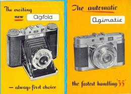 "UK. England. ""Agilux"". ""Agifold"" And ""Agimatic"". - Publicités"