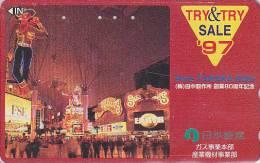 Télécarte Japon - PARC D´ATTRACTIONS - AMUSEMENT PARK Japan Phonecard - VERGNÜGUNGSPARK - ATT 256 - Games