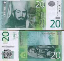 Serbia, 20 Dinara, 2011, P-NEW, AA-Prefix, UNC - Serbien
