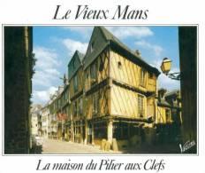 CPM Le Vieux Mans La Maison Du Pilier Aux Clefs - Le Mans