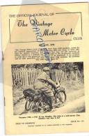 The Vintage Motor Cycle Aout 1975 Moto Sport Tourisme - Sports