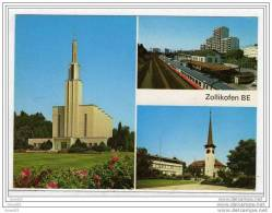 (suisse) Zollikofen BE -Monument Gare église 1986. - BE Bern