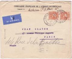Nigeria - ESC De Calabar Pour Paris (75) - CAD 5 Juin 1939 - Timbre 4 Pence - 6 CAD - Nigeria (1961-...)