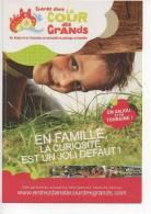 REF 115   - CPM PROMO Cart'com Entrez Dans La Cours Des Grands Anjou - Publicidad