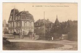 CABOURG - Villas Francia, Trouvilla, Stella - Petite Animation - - Cabourg