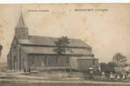 Mennevret L Eglise No 2 Picardie Illustrée Edit Dupré St Quentin - France